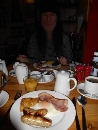 McHalls Hotel: Trevor at breakfast