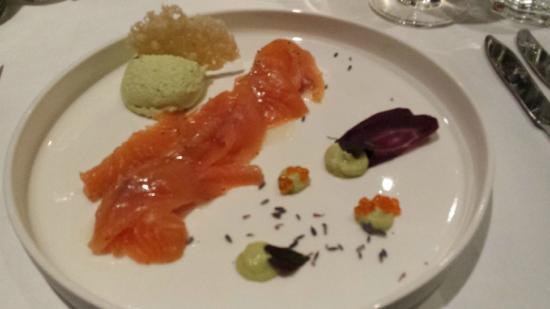 Restaurant Gildehaus: Starter- salomon