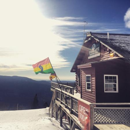 Waterville Valley Resort - Ski Area: The hut at the top!