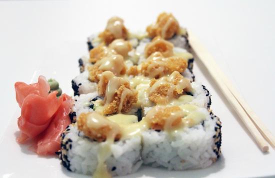 Rolling Sushi: Fuji Roll