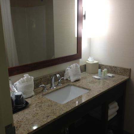 Comfort Suites Glen Allen : Sink is inside the bathroom