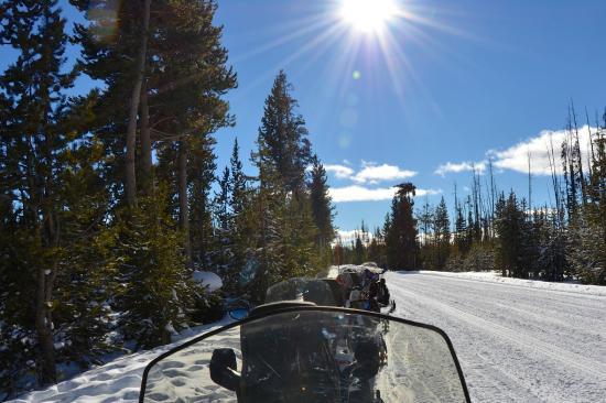 Old Faithful Snowmobile Tours - Day Tours: snowmobiles