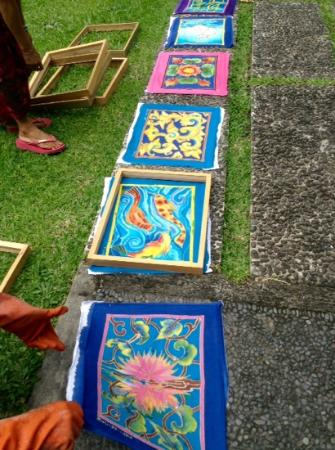 Museum Puri Lukisan: the batik course offered here