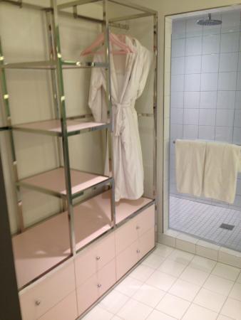 SLS Las Vegas Hotel U0026 Casino: Lux Bathroom/ Shower