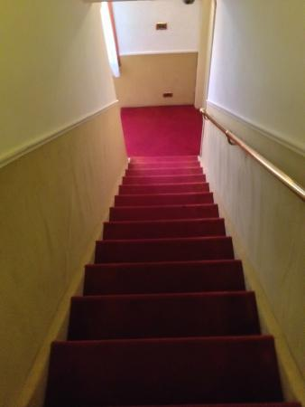 Alla Corte Rossa : The steep stairs; really the only downside to this hotel