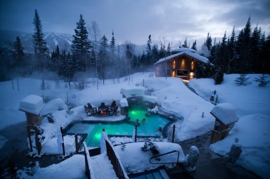 Saint-David-de-Falardeau, Kanada: Bains scandinaves