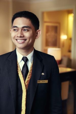 Raffles Makati: On Call Butler Service