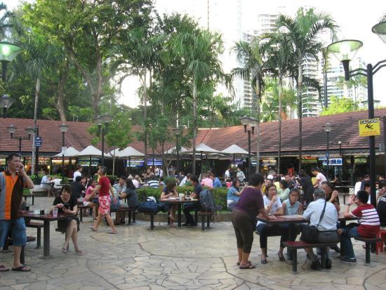 Newton Circus Food Court Singapore