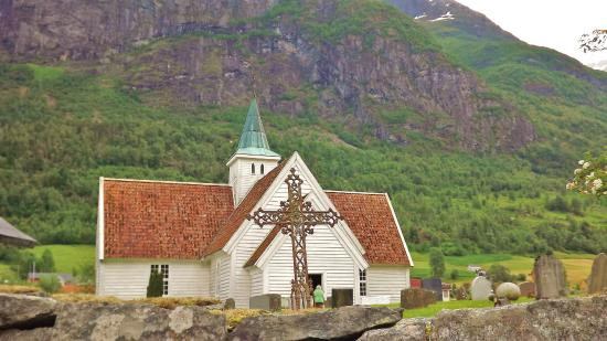 Stryn, นอร์เวย์: Old White Church - 16 th century