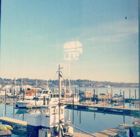 Lake view - Tugboat Annie's, Olympia, WA
