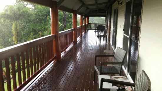 Forest Creek, Australie : Balcony