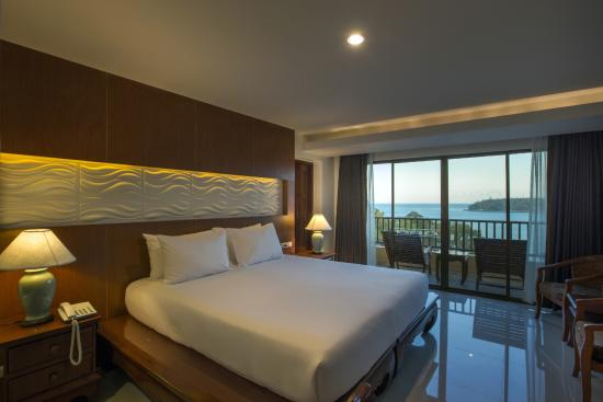 Chanalai Garden Resort: Deluxe Sea View Room