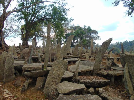 Nartiang Monoliths: monolith park...Jowai