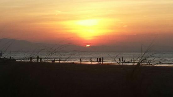 San Fabian Beach Sunset