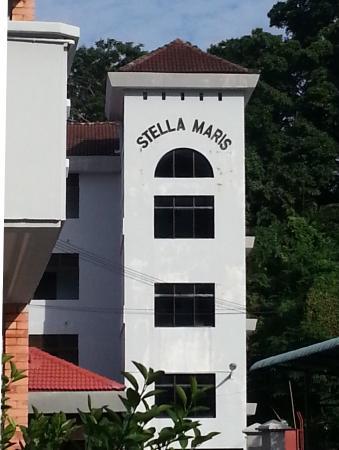 Stella Maris Retreat Centre The Signboard On Building