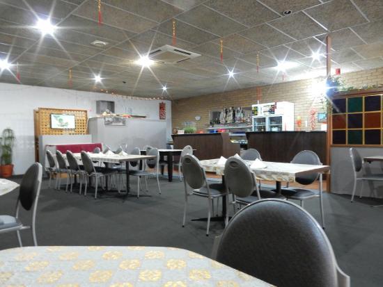 Chan Kong Chinese Restaurant: Inside restaurant