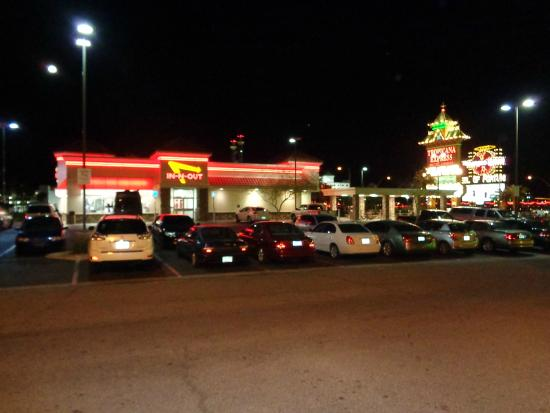 In-N-Out Burger: Located outside the Tropicana Express Hotel Casino - easy parking