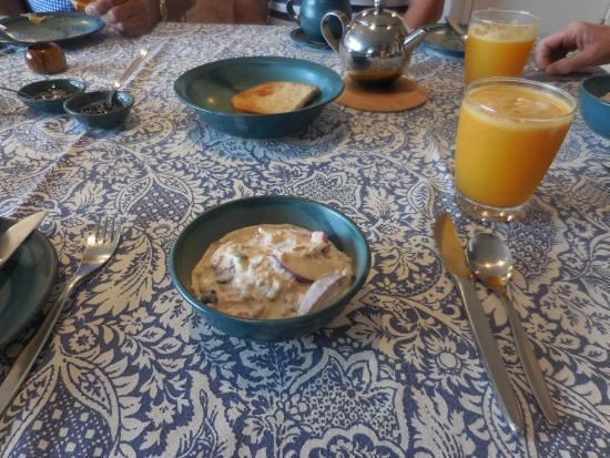 Sheoaks Bed and Breakfast: Bircher Breakfast