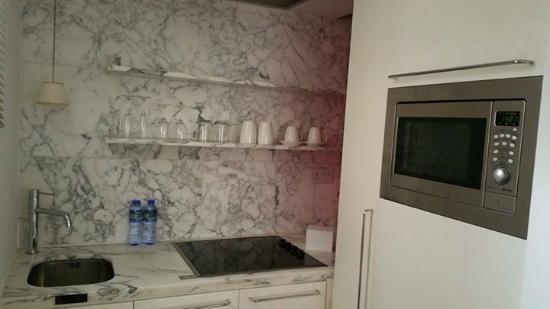 Kitchen - Picture of J Plus Hotel by YOO, Hong Kong - TripAdvisor