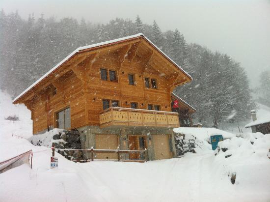 le b b sous la neige picture of tivoli chalet leysin tripadvisor