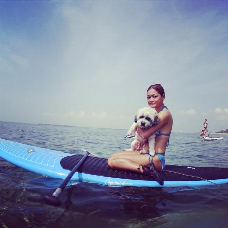 Bali Stand Up Paddle School: SUP with Pippa ��