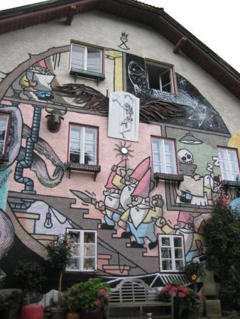 Kleinsasserhof: facciata esterna