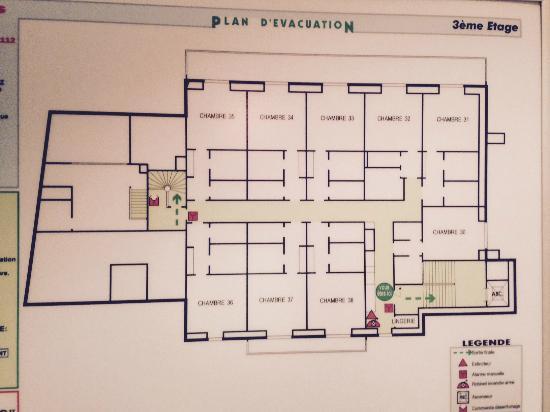 Plan Des Très Petites Chambres étage 3 Picture Of Le
