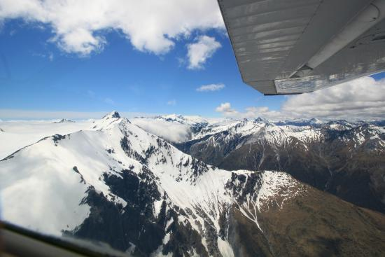 U-Fly Wanaka: View from up there.