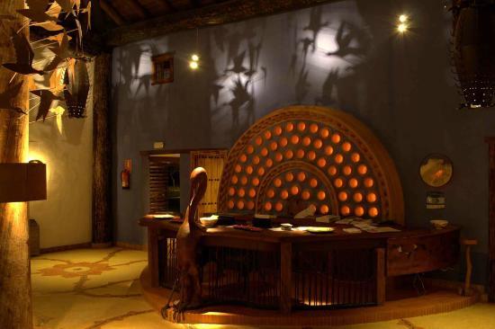 Ardea Purpurea Lodge: Recepción