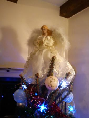 Chalupkovo: Lovely Christmas tree in are siting room in cottage