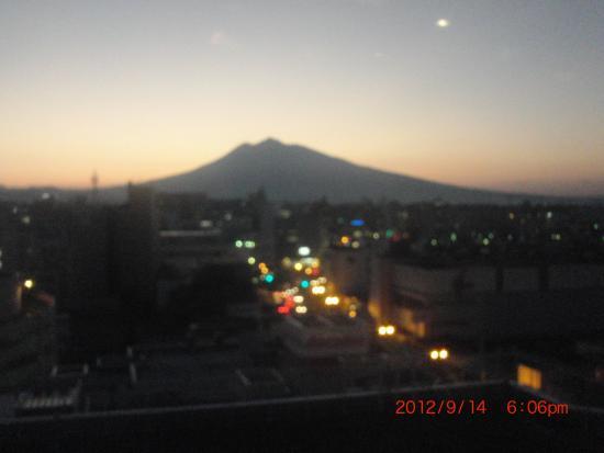 Mt. Iwaki: 夕やけの「いわき山」