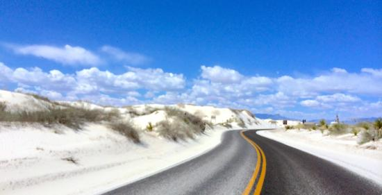 White Sands National Monument: White Sands Loop Road. Drive the whole loop, it's not far