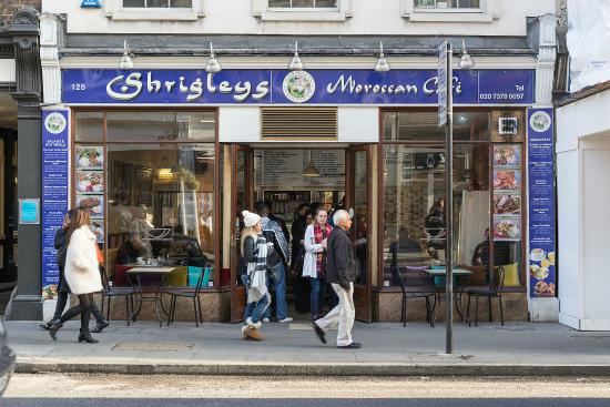 shop picture of shrigleys moroccan cafe london