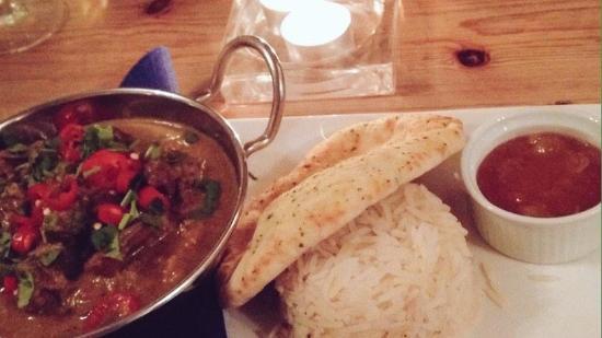 Restaurant at The Randolph: Lamb Curry