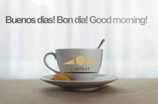 L'Hotelet: Buenos dias Hotelet