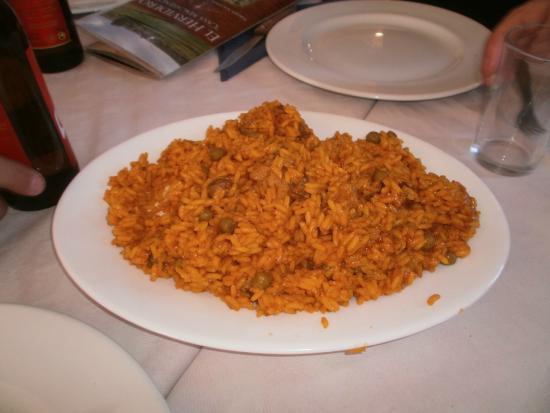 Restaurante El Hervidero Casa Macareno: Tapa de arroz mientras esperas la comida