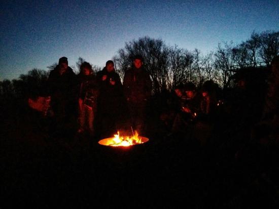 Puur Terschelling - Day Tours: kampvuur