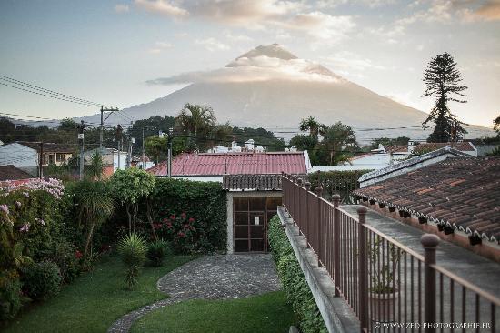 Lever de soleil sur le Volcan de Chez Daniel