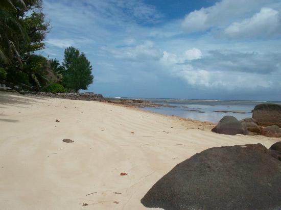 Le domaine de Bacova: la magnifique petite plage