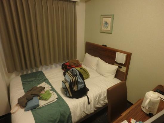 Sotetsu Fresa Inn Kamakura Ofuna: スミマセン。荷物を置いてしまいましたが・・。室内。