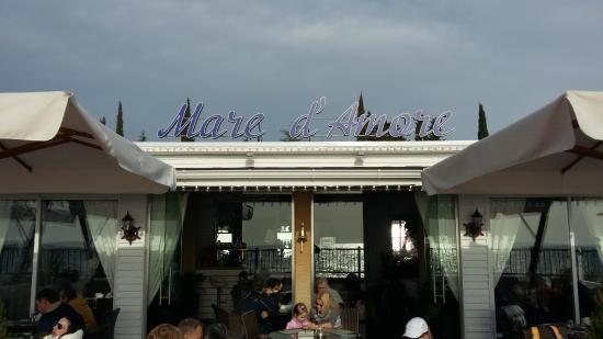 Mare d'Amore: Вывеска