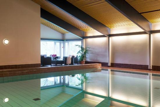 Thon Hotel Vettre: Bassenget med badstuer