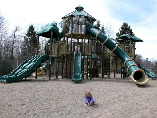 Magnetic Hill Zoo: New giant playground!