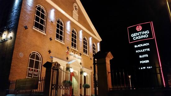 Genting Casino Bolton at Night
