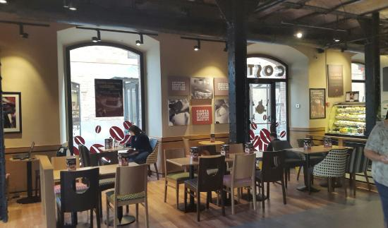 Interior costa palau de mar picture of costa coffee barcelona tripadvisor - Tea shop barcelona ...