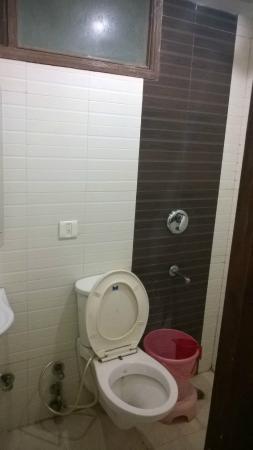 Hotel Lav-Kush Deluxe: Bathroom Toilet
