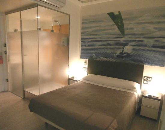 Hotel Punta Monpas: Habitación doble Vistas