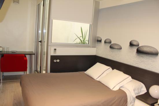 Hotel Punta Monpas: Habitación Interior