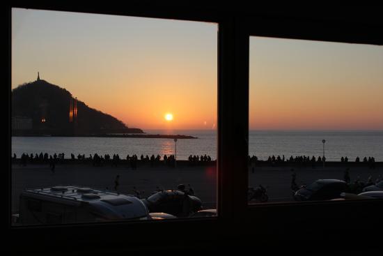 Hotel Punta Monpas: Vista habitación Superior Vista mar