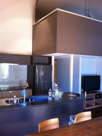 Exmouth Escape Resort : Kitchen